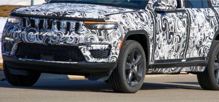 Jeep Grand Cherokee 2022, пятидверная