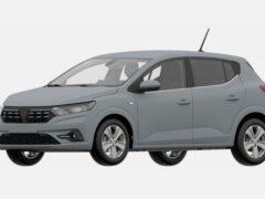 Renault запатентовал дизайн нового хэтчбека Sandero в России