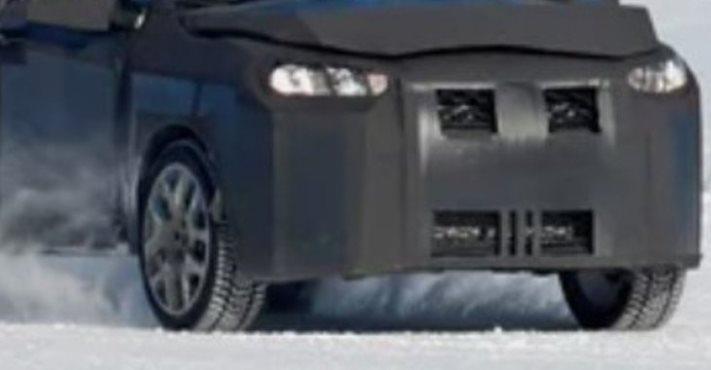 загадочный прототип седана