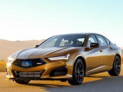 Продажи седана Acura TLX Type S на рынке США начнутся в мае