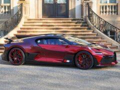 На создание эксклюзивного Bugatti Divo Lady Bug ушло полтора года