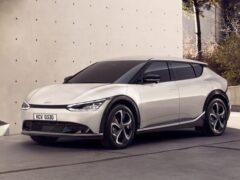 Южнокорейская компания KIA представила новый электромобиль EV6