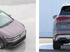 Volkswagen показал в Шанхае свой самый большой кроссовер Talagon