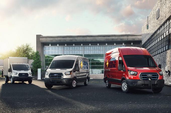 Ford E-Transit, фургон электрический
