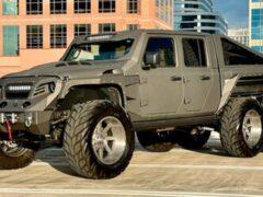 В США продается шестиколесный Apocalypse Hellfire на базе Jeep