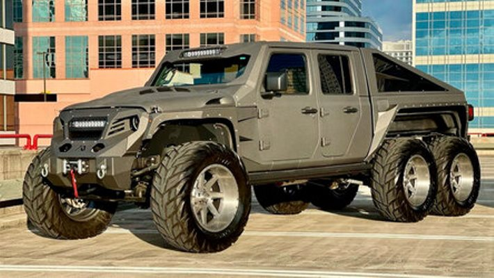 Apocalypse Hellfire, внедорожник, на базе Jeep