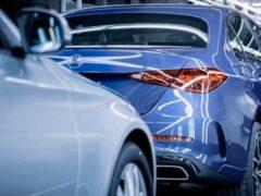 Mercedes запустил производство новых Mercedes-Benz C-Class