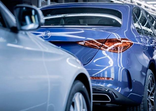 Mercedes-Benz C-Class, завод, производство