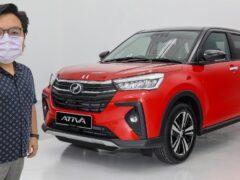 Perodua переделала Daihatsu Rocky и Toyota Raize в кроссовер Ativa