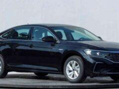 Volkswagen готовит к дебюту модернизированный седан Passat