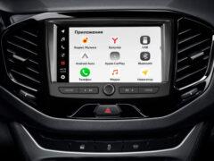 АвтоВАЗ презентовал новый мультимедиакомплекс EnjoY Pro для Lada
