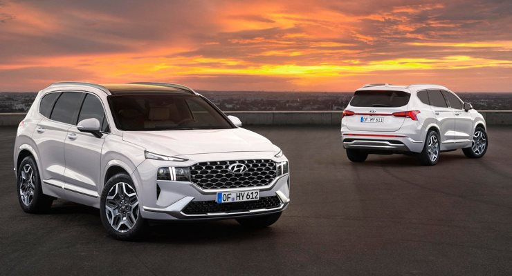 Hyundai Santa Fe, новый кроссовер