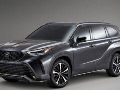 Новые трёхрядные кроссоверы Lexus и Toyota получат автопилот