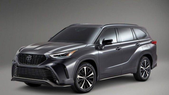 Toyota, трехрядный кроссовер, новый
