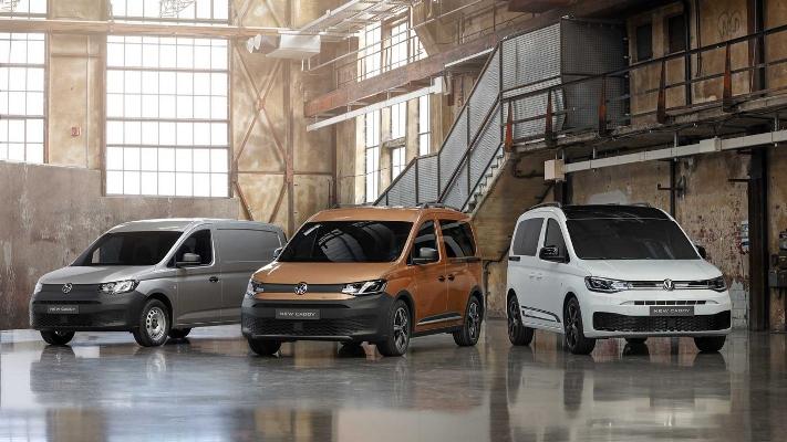 Volkswagen Caddy, фургон нового поколения