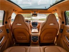 Aston Martin представил эксклюзивную версию кроссовера DBX