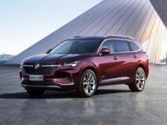 Buick представил новый кроссовер Envision Plus