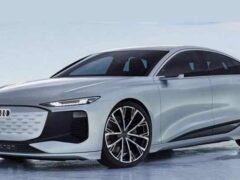 В Шанхае дебютировал концепт Audi A6 e-tron нового поколения
