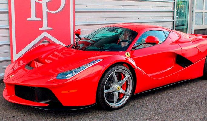 Ferrari LaFerrari, супергибрид