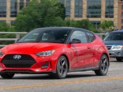 Hyundai может прекратить продажи трехдверного хэтчбека Veloster