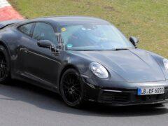 На Нюрбургринге замечен прототип «внедорожного» Porsche 911 Safari