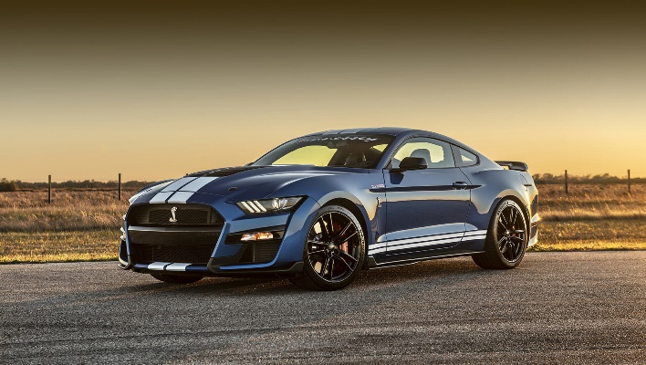 Ford Mustang Shelby GT500 2021 года