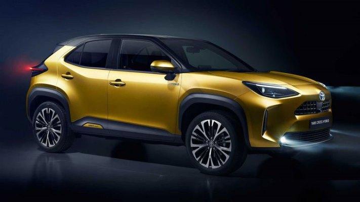 Toyota Yaris Cross, новый