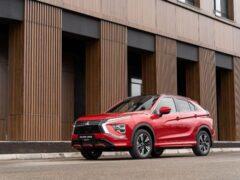 В России стартовали продажи обновленного Mitsubishi Eclipse Cross