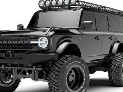 Представлены рендеры шестиколесного внедорожника Ford Bronco