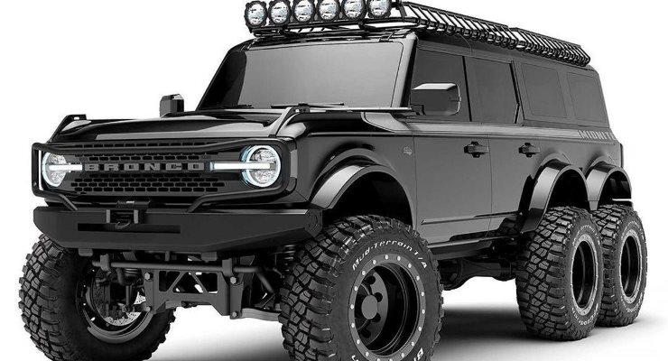Ford Bronco, шестиколесный