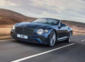 Bentley представил высокотехнологичный кабриолет Continental GT Speed