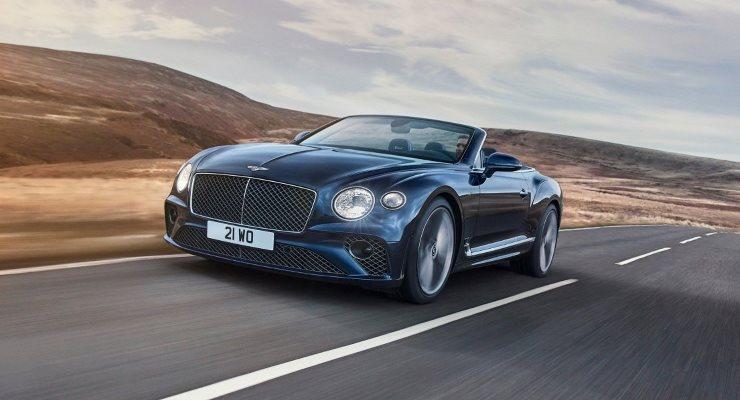 Bentley Continental GT Speed, кабриолет