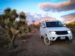 УАЗ «Патриот» на рынке США будет предлагаться с мотором V8