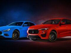 Компания Maserati представила спецверсии Levante и Ghibli F Tributo