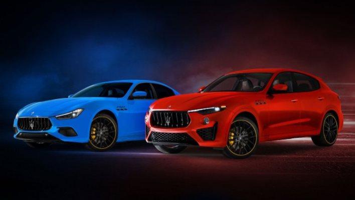 Maserati Levante и Ghibli