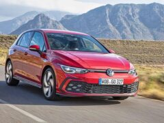 В России начались продажи нового Volkswagen Golf