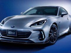 Subaru предлагает «пакет» аксессуаров для спортивного BRZ 2022 года