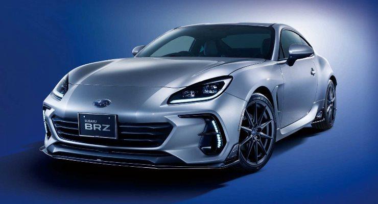 Subaru BRZ 2022 года