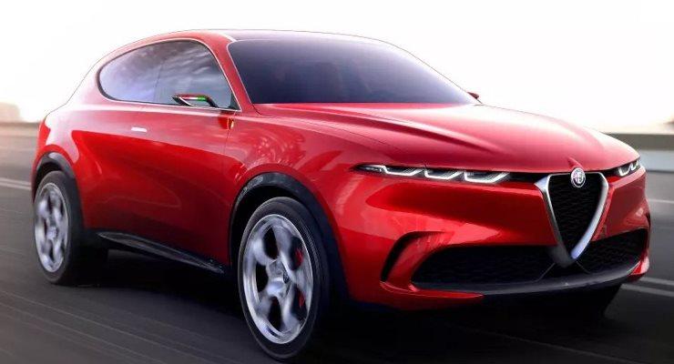 Alfa Romeo Tonale, кроссовер