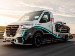 Представлен эксклюзивный эвакуатор на базе Mercedes-Benz Sprinter