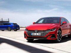 Начались продажи «заряженных» R-версий лифтбека и универсала Volkswagen Arteon