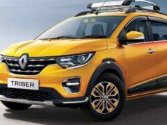 Компания Renault обновила субкомпактный кроссвэн Renault Triber