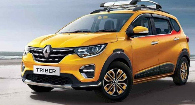 Renault Triber, обновленный