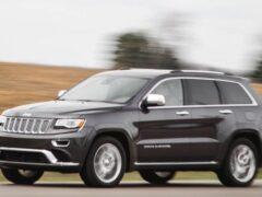 В Подмосковье замечен внедорожник Jeep Grand Cherokee нового поколения