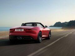 Jaguar представил купе и кабриолет F-TYPE R-Dynamic Black 2022 года