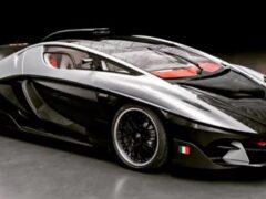 Итальянская компания FV Frangivento представила суперкар Sorpasso