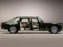 Rolls-Royce создал уникальный Phantom совместно с домом моды Hermes