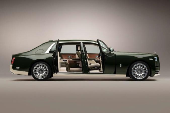 Rolls-Royce Phantom, уникальный, Hermes