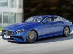 Mercedes обновил купеобразный седан CLS