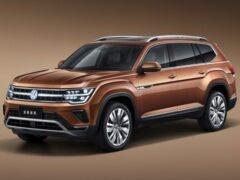 Представлен обновлённый кроссовер Volkswagen Teramont для Китая